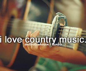 country, music, and love image