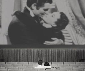 love, couple, and cinema image