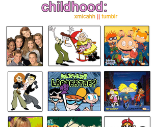childhood, courage the cowardly dog, and rugrats image