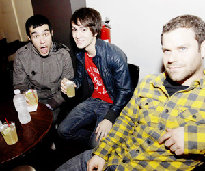 brendon urie and pete wentz image