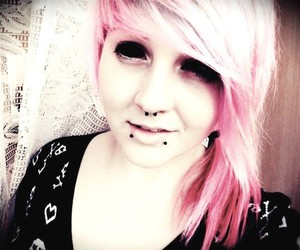 anime, piercing, and septum image