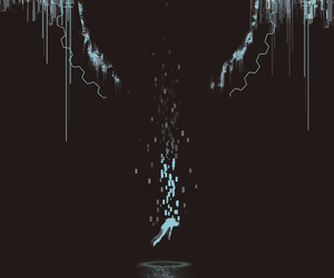 black and blue, deviantart, and drain image