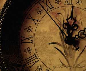 clock, vintage, and antique image