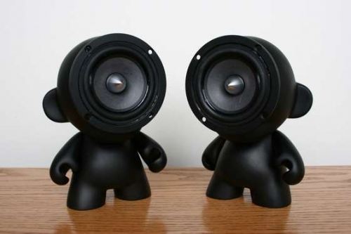 munny, speaker, and toy image