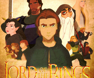 disney and lord of the rings image