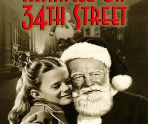 christmas movie and miracle on 34th street image