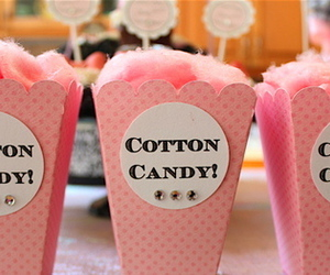 candy, cotton, and cotton candy image