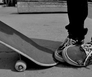 skate, vans, and boy image