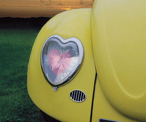 car, pastel, and vw image