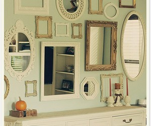 decoration, mirror, and wall image