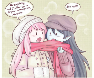 princess, scarf, and marceline image