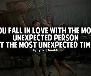 love, quote, and unexpected image