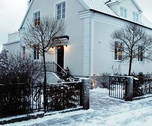 beautiful, christmas, and house image