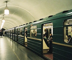 subway, train, and photography image