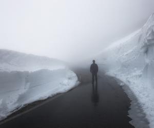 grunge, ice, and snow image