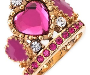 ring, pink, and jewelry image