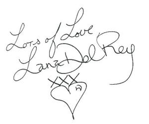 lana del rey and heart image