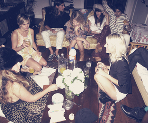 party and friends image