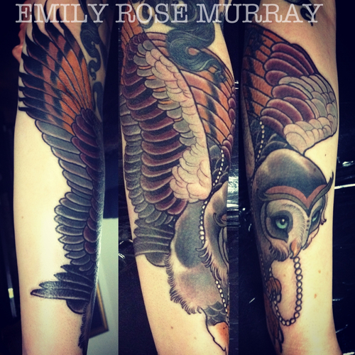 Octopus Chest Tattoo Emily