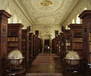 library, book, and oxford image