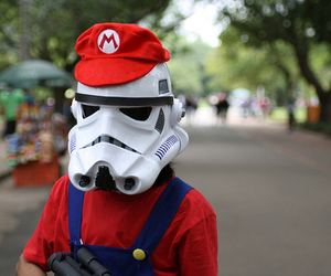 mario, star wars, and photography image