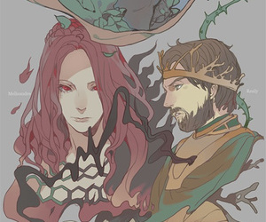 fan art, manga, and game of thrones image