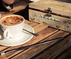 box and coffee image