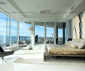bedroom, penthouse, and mr. grey image