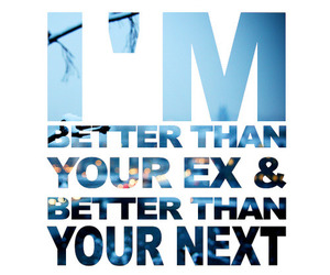 text, ex, and quote image