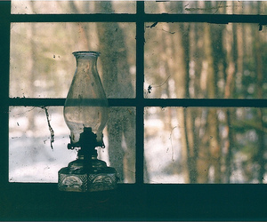 lamp, vintage, and window image