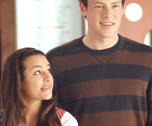 love, glee, and finchel image