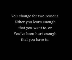 quotes, change, and hurt image