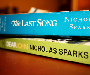book, dear john, and nicholas sparks image
