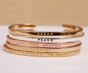 Dream, bracelet, and peace image