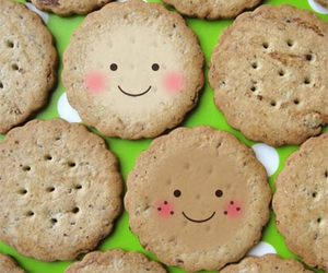 cute, smile, and Cookies image