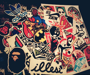 sticker, swag, and vans image
