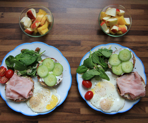 apple, bread, and eggs image