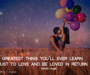 heart, moulin rouge, and learn image