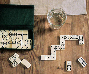 game, photography, and domino image