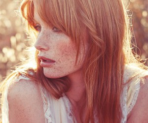 freckles, ginger, and red hair image