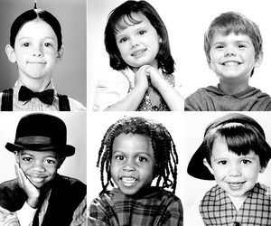 kids, batutinhas, and little rascals image