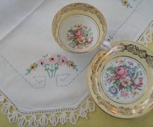 vintage tea cups image