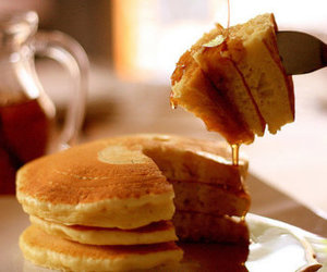 delicious, OMG, and pancakes image