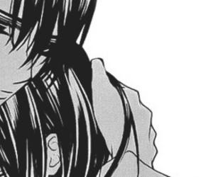 black and white, manga, and vampire knight image