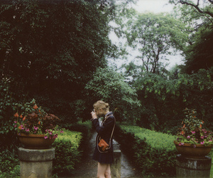 girl, nature, and vintage image