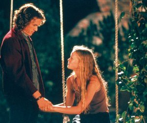 movie, 10 things i hate about you, and heath ledger image