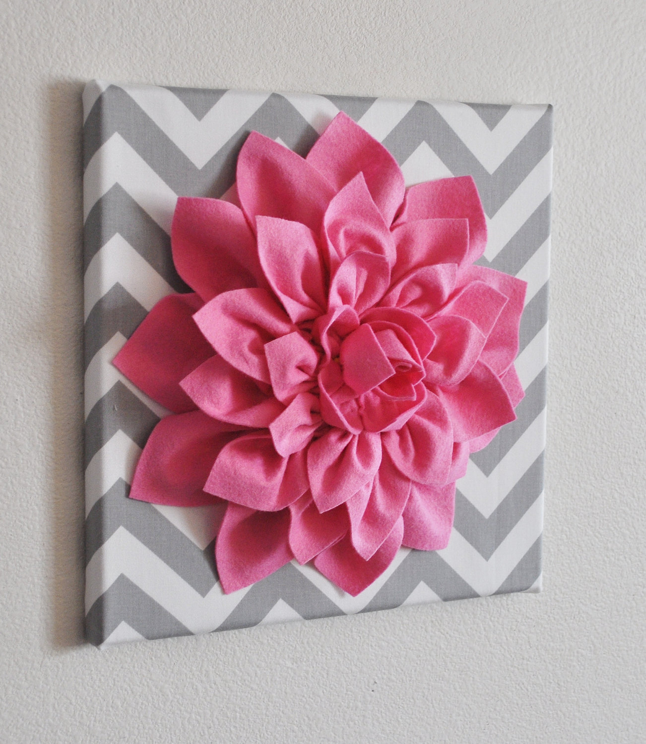 Image Detail For And White Chevron 12 X12 Canvas Wall Art