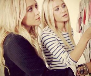 ashley olsen, blonde, and mary kate olsen image