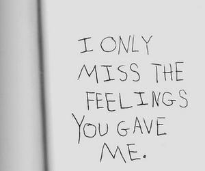 quote, feelings, and miss image