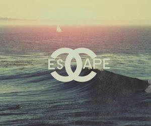 escape, chanel, and sea image